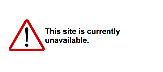 This site is currently unavailable